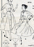 Butterick 6713 Detail