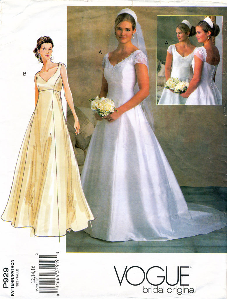 Vogue Bridal Original P929