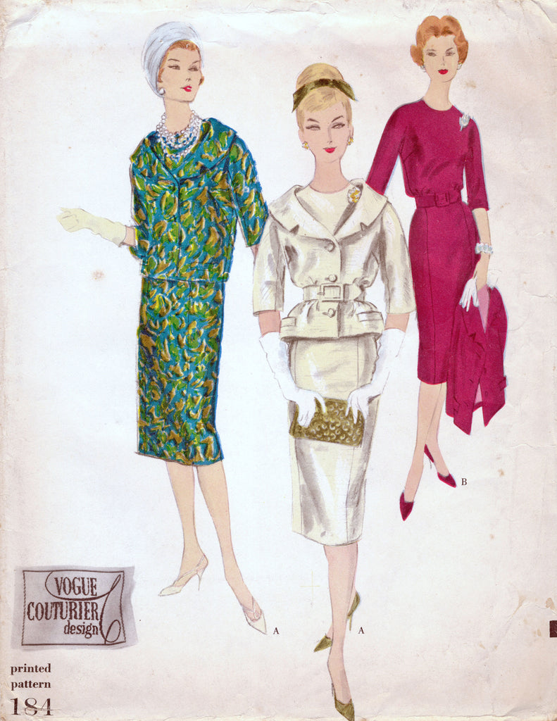 Vogue Couturier Design 184