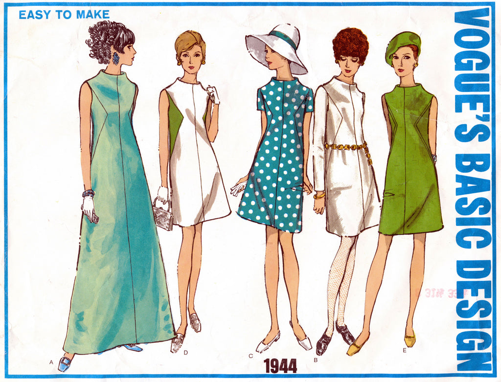 Vogue's Basic Design 1944