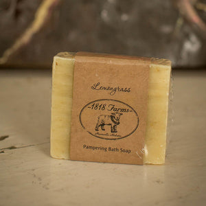 Lemongrass Scented Hand-Crafted Soap