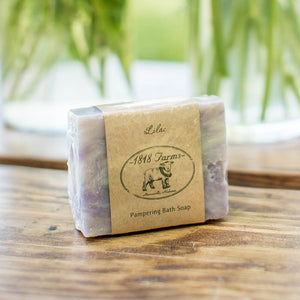 Lilac Scented Hand-Crafted Soap