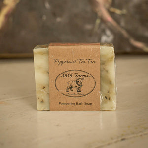 Peppermint Scented Hand-Crafted Soap