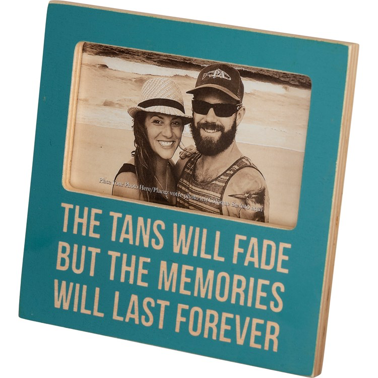 Plaque Frame - Tans Will Fade