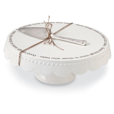 GOOD THINGS CAKE PLATE
