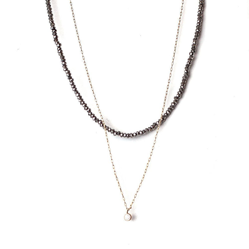 Bay Hematite Necklace