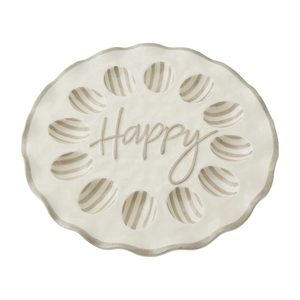 Happy Ruffle Deviled Egg Tray