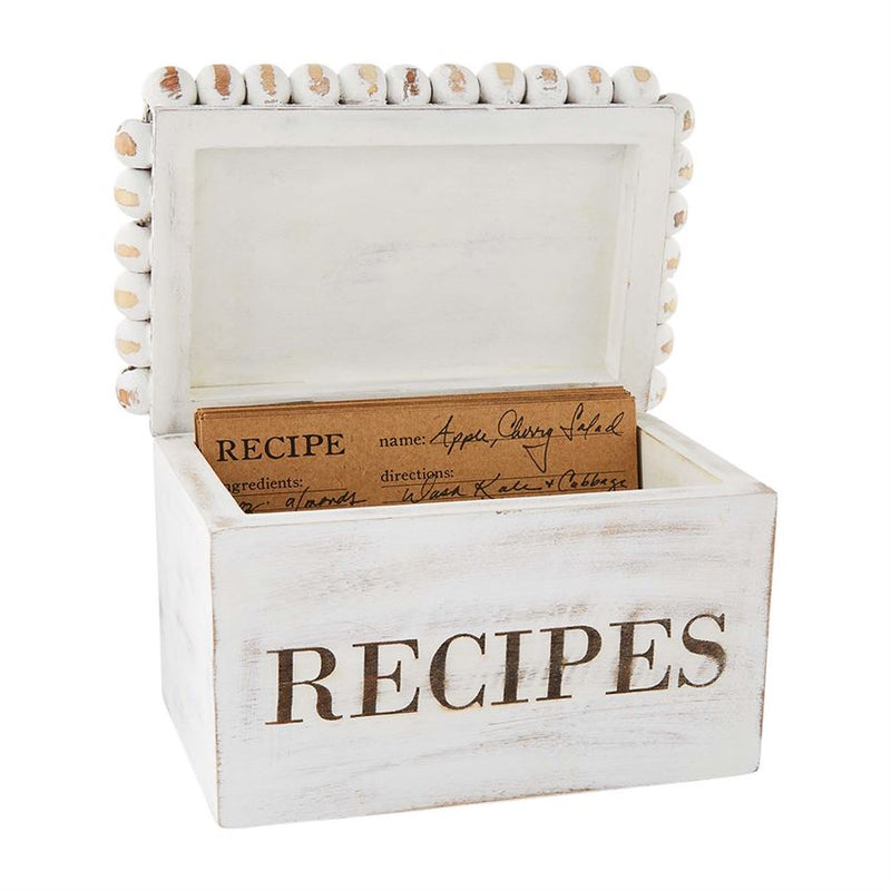 Beaded Recipe Box Set