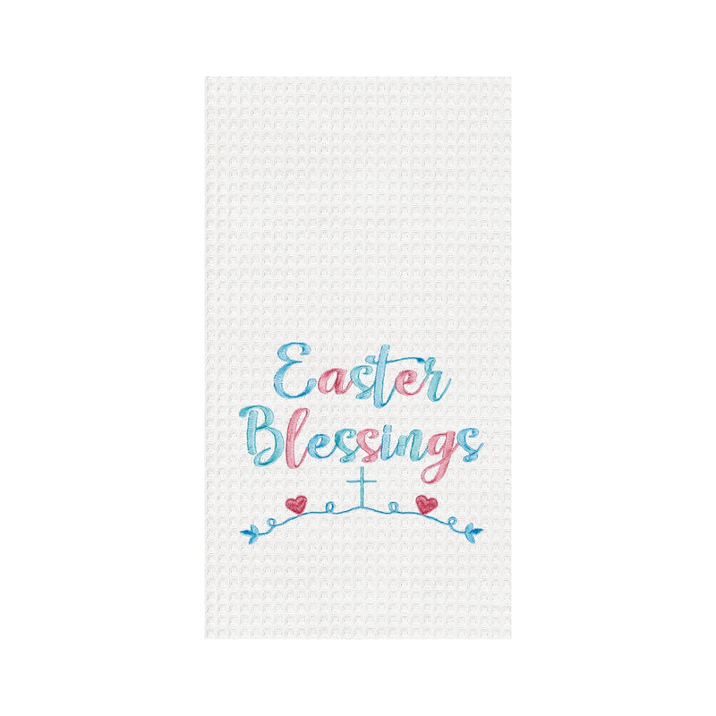 Easter Blessing Kitchen Towel