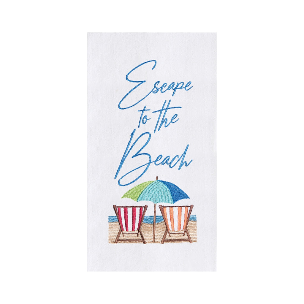 Escape To The Beach Kitchen Towel