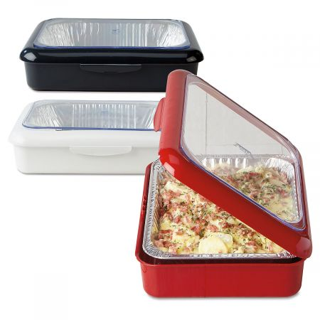 Red Fancy Panz 2 in 1 Casserole Carrier