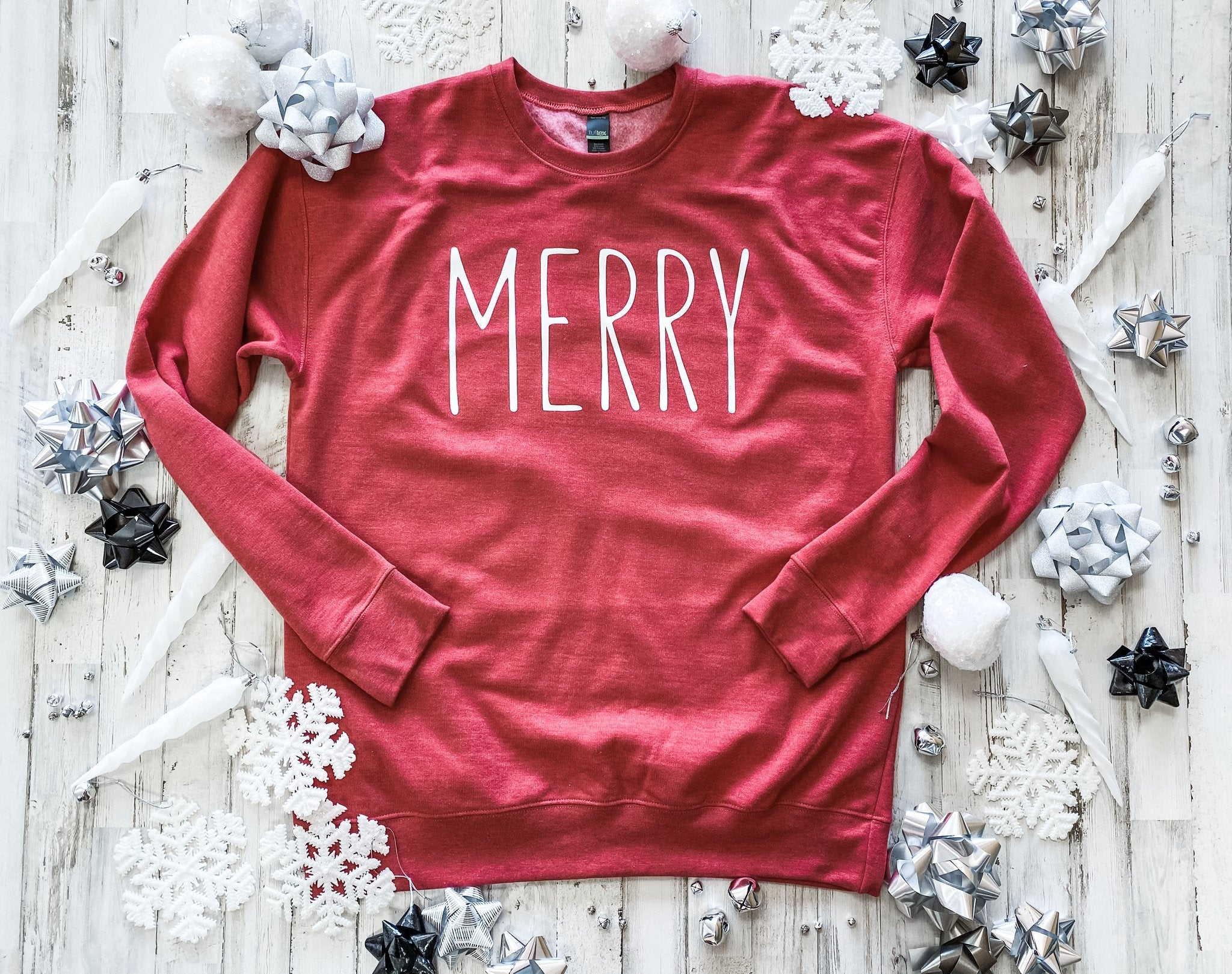 Merry Red Sweater