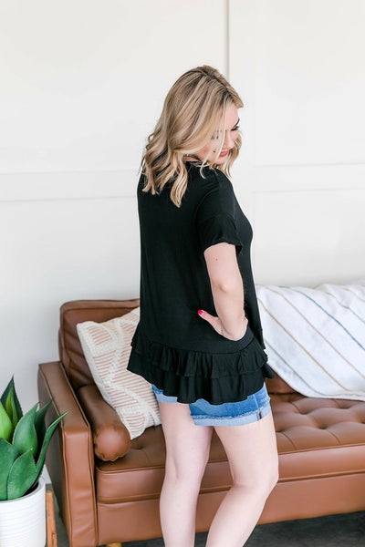 Feeling Ruffled In Black