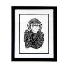 Limited Edition Print Chimp