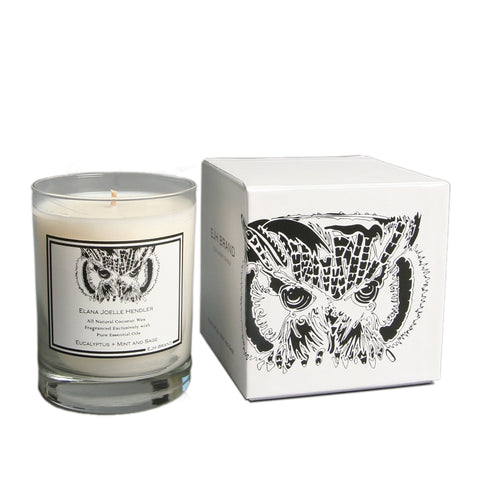 Signature Collection Eucalyptus + Mint + Sage Candle