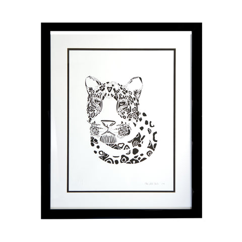 Limited Edition Print   Leopard