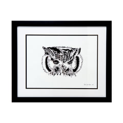 Limited Edition Print  Owl