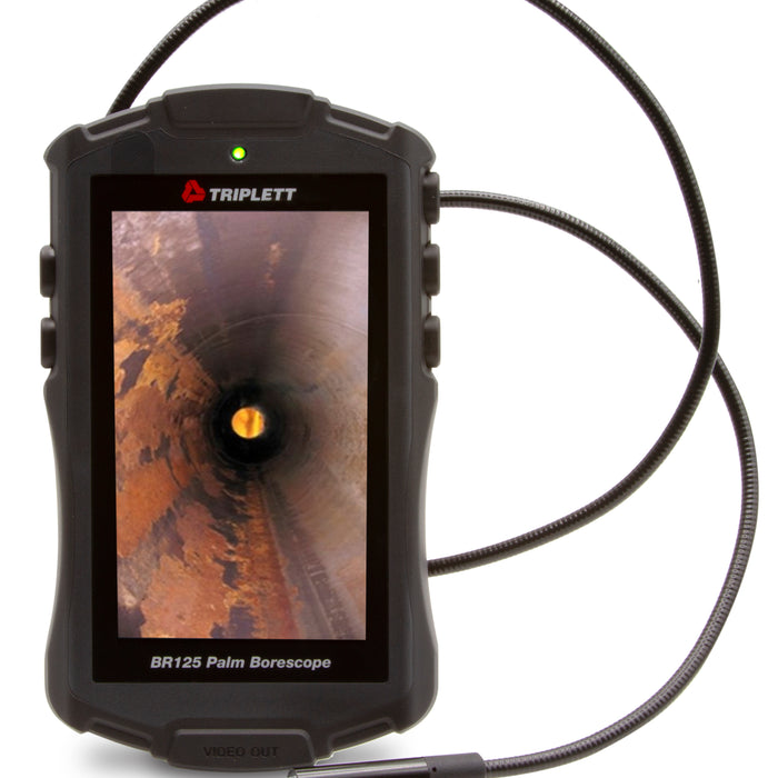 Using the Triplett Palm Borescope BR125 for Evaluating Leaks