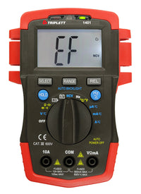Triplett Model 1401 Trues RMS Compact Digital Multimeter