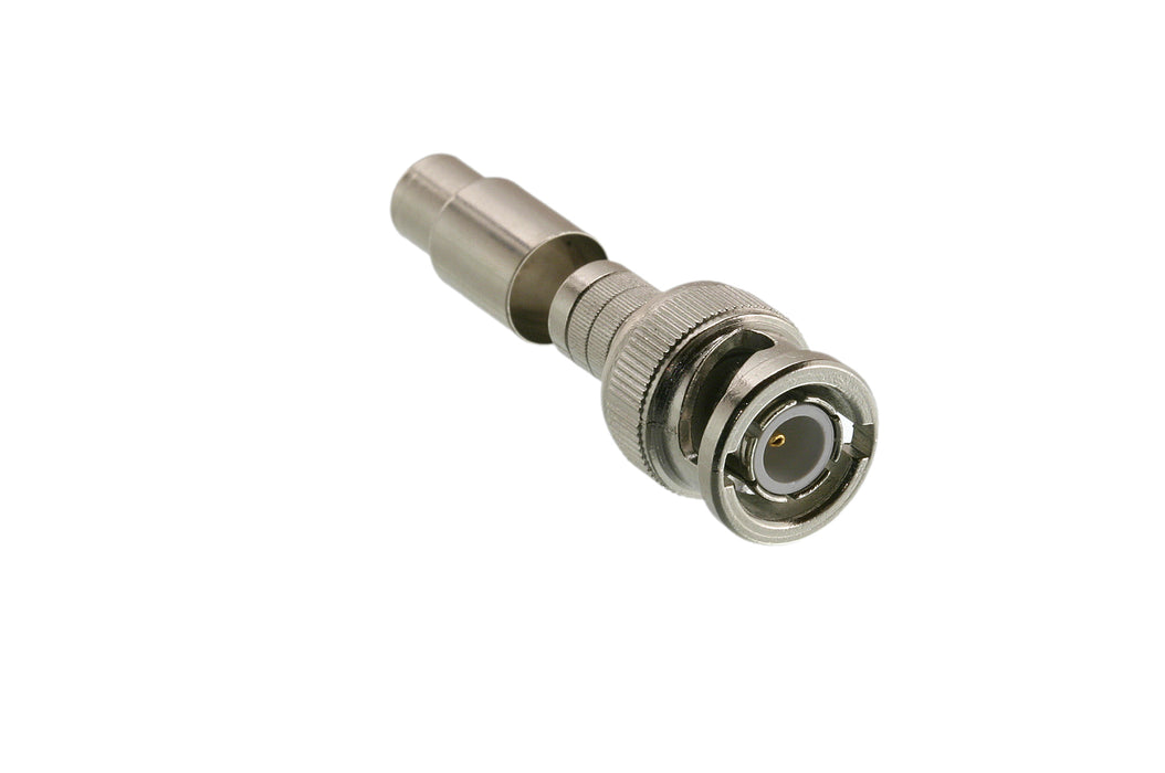 50 Ohm Male BNC Twist On Connector 10 Pack - (301-4TP)