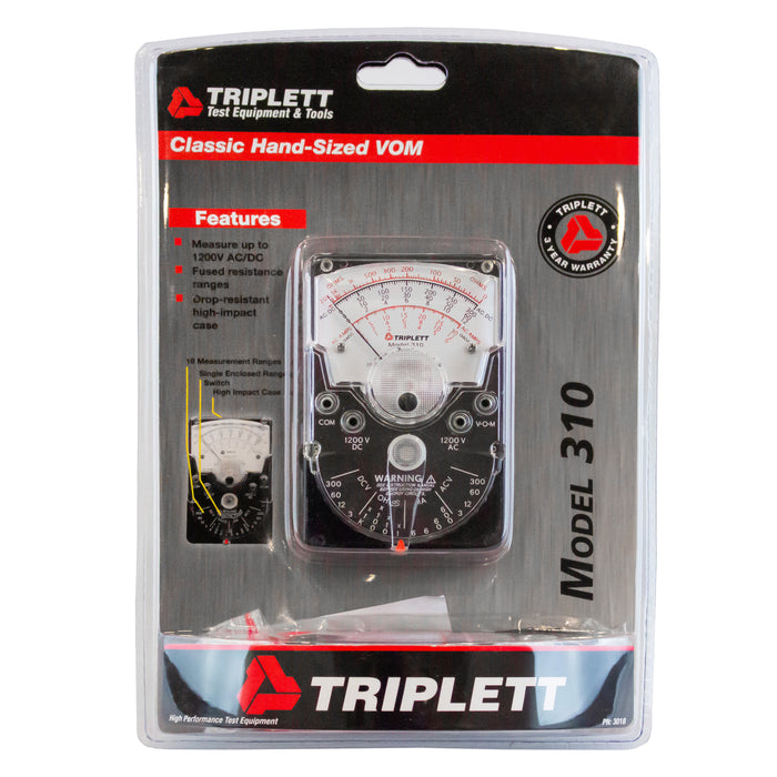 triplett analog meters 310