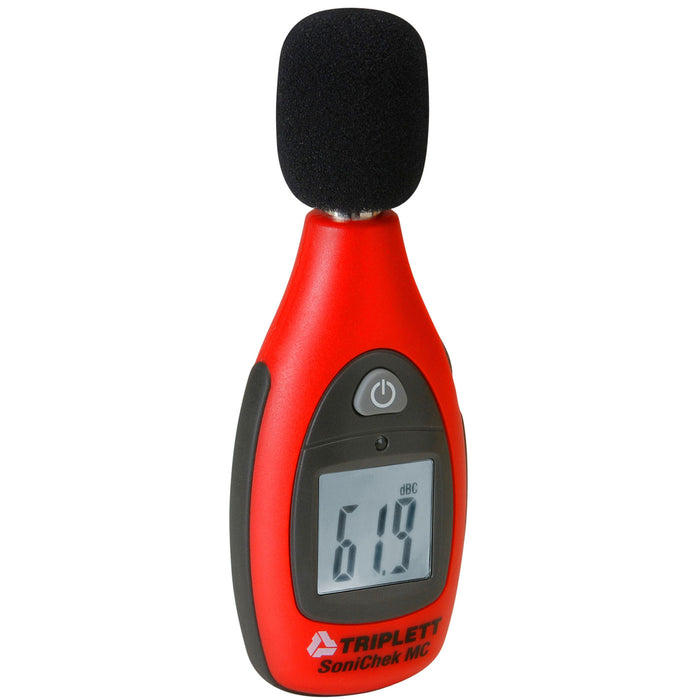 SoniChek™ Pocket Size Sound Level Meter:  40 to 130dB Measurement Range, 31.5 to 8Khz Bandwidth - (TSC-MC1)