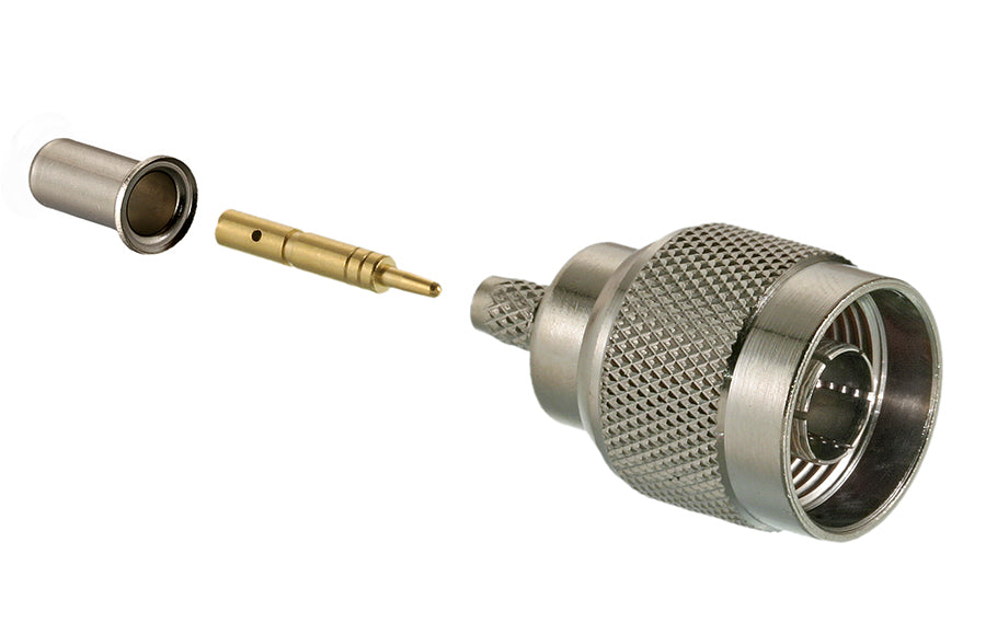 N Series Connector,  Male,  50 Ohm  - (400-9913)