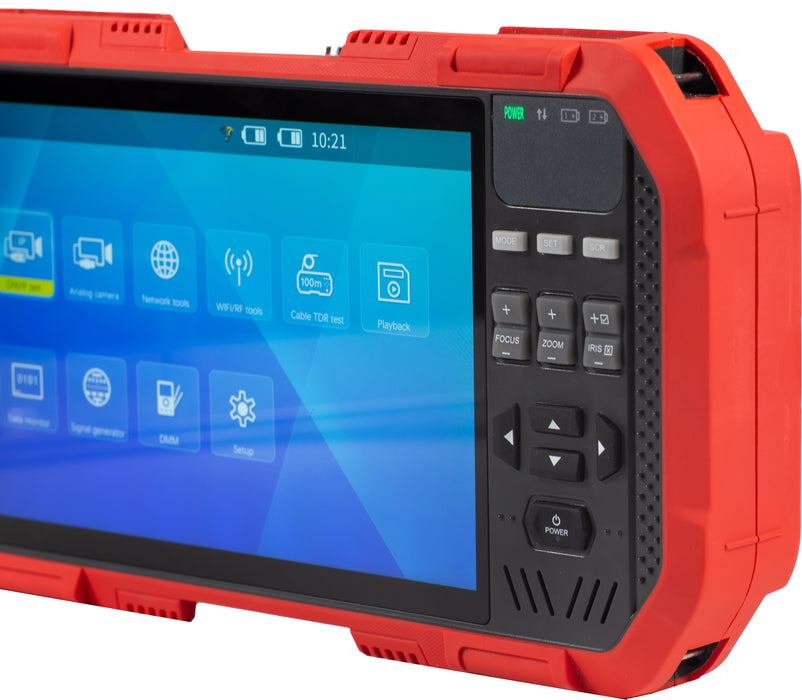 CamView IP Pro- X™ HD Full Touch Screen Display IP and Analog Security Camera Tester - (8075)