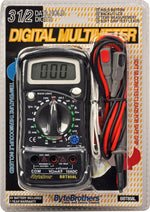 Triplett Model Pocket Digital Multimeter with Temperature Measurement - (BBT858L)