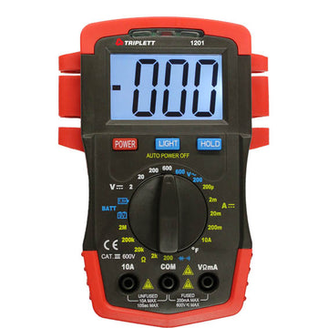 Triplett Model 1201 Compact Digital Multimeter