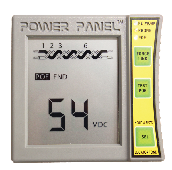 Triplett Power Panel CAT 5/6 Digital Volt Meter