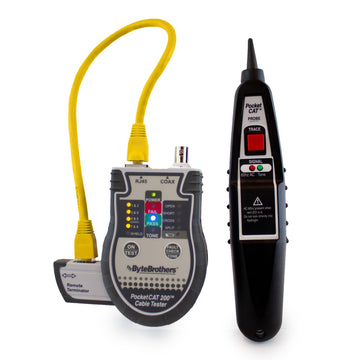 Pocket Cat RJ45/Coax Tester with Probe