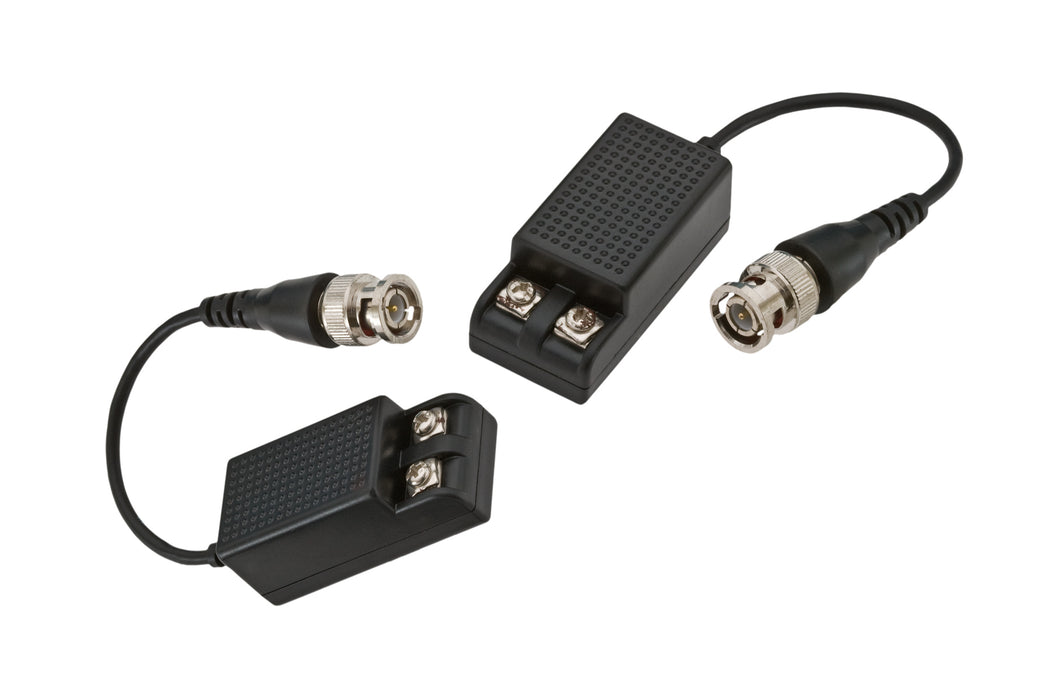 CCTV Video Balun BNC Pigtail to Screw Terminal 1000' - Pair - (BLN-STPT2)