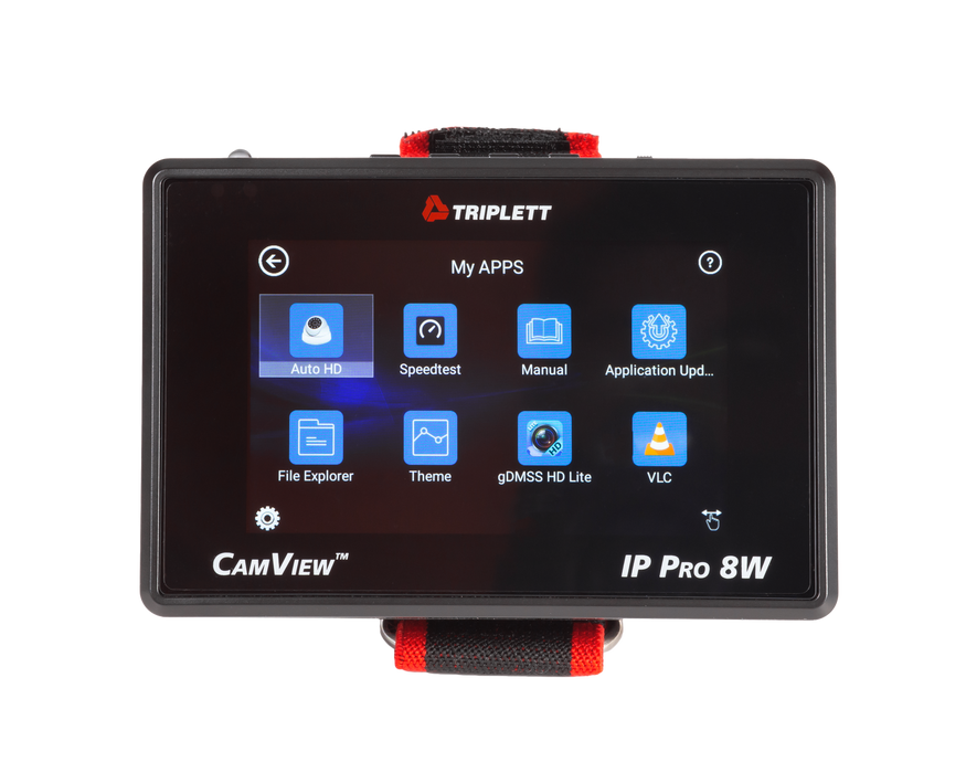CamView IP Pro-8W™ HD CCTV Portable IP & Analog Security Camera Tester : Wrist Mount Design- (8066)