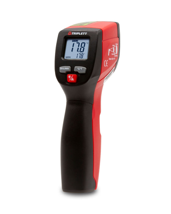 12:1 Non- Contact Infrared Laser Thermometer: Temperature Range of -4° to 932° F - (IRT220)