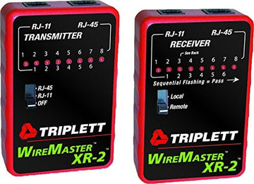 Triplett WireMaster XR-2 LAN Cable Test Kit with Tracer Tone
