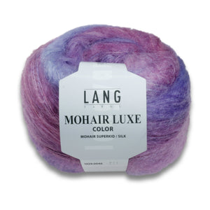 MOHAIR LUXE COLOR - Lang Yarns | 350/50|77% Mohair (Superkid)  23% Seide