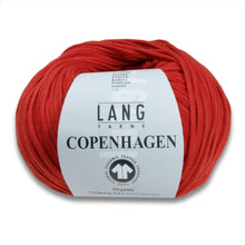Laden Sie das Bild in den Galerie-Viewer, COPENHAGEN (GOTS) - Lang Yarns | 90/50|100% Baumwolle (Certified organic cotton)