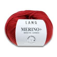 Laden Sie das Bild in den Galerie-Viewer, MERINO+ - Lang Yarns | 90/50|100% Schurwolle (Merino fine - mulesing free)  Superwash