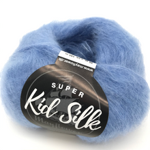 Laden Sie das Bild in den Galerie-Viewer, Super Kid Silk Farbe 40 - Mayflower | ca. 195 m / 25 g | 76 % Mohair, 24 % Seide Farbe 30