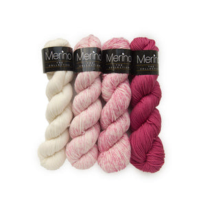 MERINO THE COLLECTION PFLAUME (5087) - Mayflower, Handgefärbt,100 % Reine Merinowolle Superwash