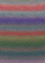 Laden Sie das Bild in den Galerie-Viewer, MILLE-COLORI-BABY 845.0051 (BUNT/VIOLET/OLIVE)