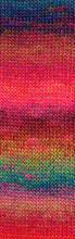 Laden Sie das Bild in den Galerie-Viewer, MILLE-COLORI-SOCKS-&-LACE-LUXE 859.0050 (BUNT PINK/BLAU)