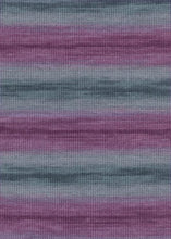 Laden Sie das Bild in den Galerie-Viewer, MERINO-400-LACE-COLOR 889.0080 (AUBERGINE/GRAU)