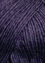 Laden Sie das Bild in den Galerie-Viewer, SUPER-SOXX-6-FACH-6-PLY 907.0080 (AUBERGINE MÉLANGE)