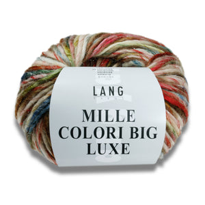 MILLE COLORI BIG LUXE - Lang Yarns | 95/100|52% Schurwolle  43% Polyacryl  3% Polyamid  2% Polyester