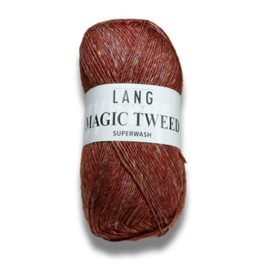 MAGIC TWEED - Lang Yarns | 200/50|62% Schurwolle  Superwash  18% Polyamid  10% Viskose  10% Polyacryl