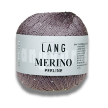Laden Sie das Bild in den Galerie-Viewer, MERINO PERLINE - Lang Yarns | 122/25|89% Schurwolle (Merino superfine)  11% Glas