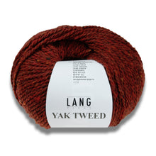 Laden Sie das Bild in den Galerie-Viewer, YAK TWEED - Lang Yarns | 105/50|50% Yak  50% Schurwolle (Merino extrafine)
