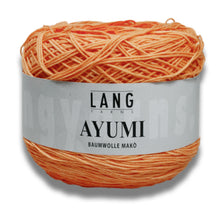 Laden Sie das Bild in den Galerie-Viewer, AYUMI - Lang Yarns | 700/100|77% Baumwolle (Mako)  23% Polyamid